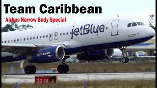 Team Caribbean Airbus Narrow Body Special Part (1) !!!