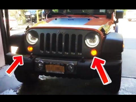 how to install a halo led kit on a jeep wrangler tutorial how to install a halo led kit on a jeep wrangler tutorial