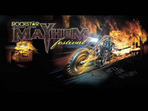 First Week of Rockstar Mayhem Festival