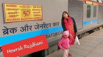 New Delhi to Howrah || Howrah Rajdhani Express 12302 || Train Journey vlog