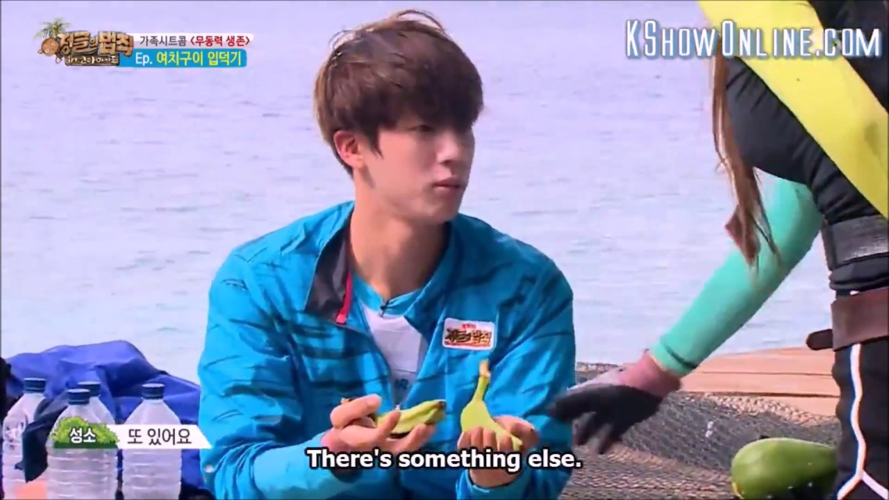 BTS Jin screaming and scared of grasshopper