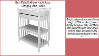 Athena Nadia Baby Changing Table, White Review