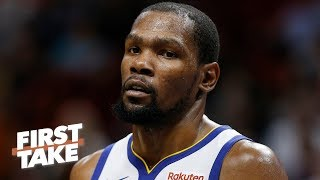 Kevin Durant declines $31.5M player option, weighing free agency options | First Take