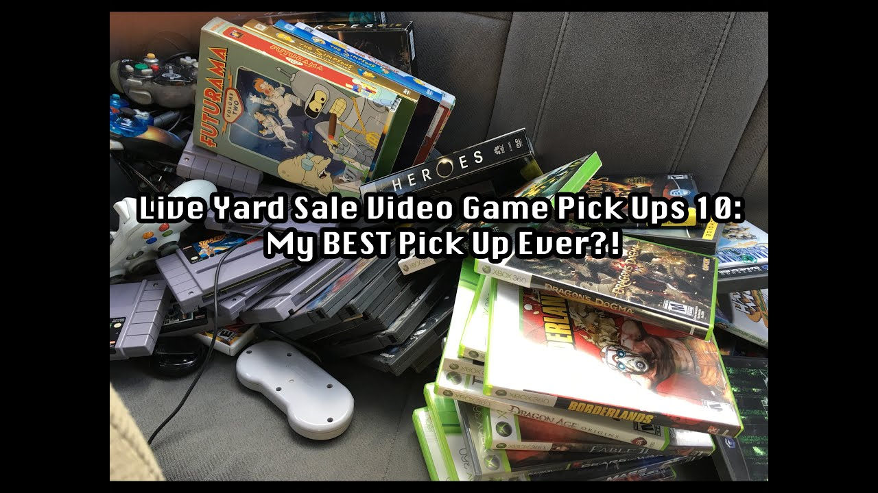 Live Yard Sale Video Game Pick Ups 10 My Best Pick Up