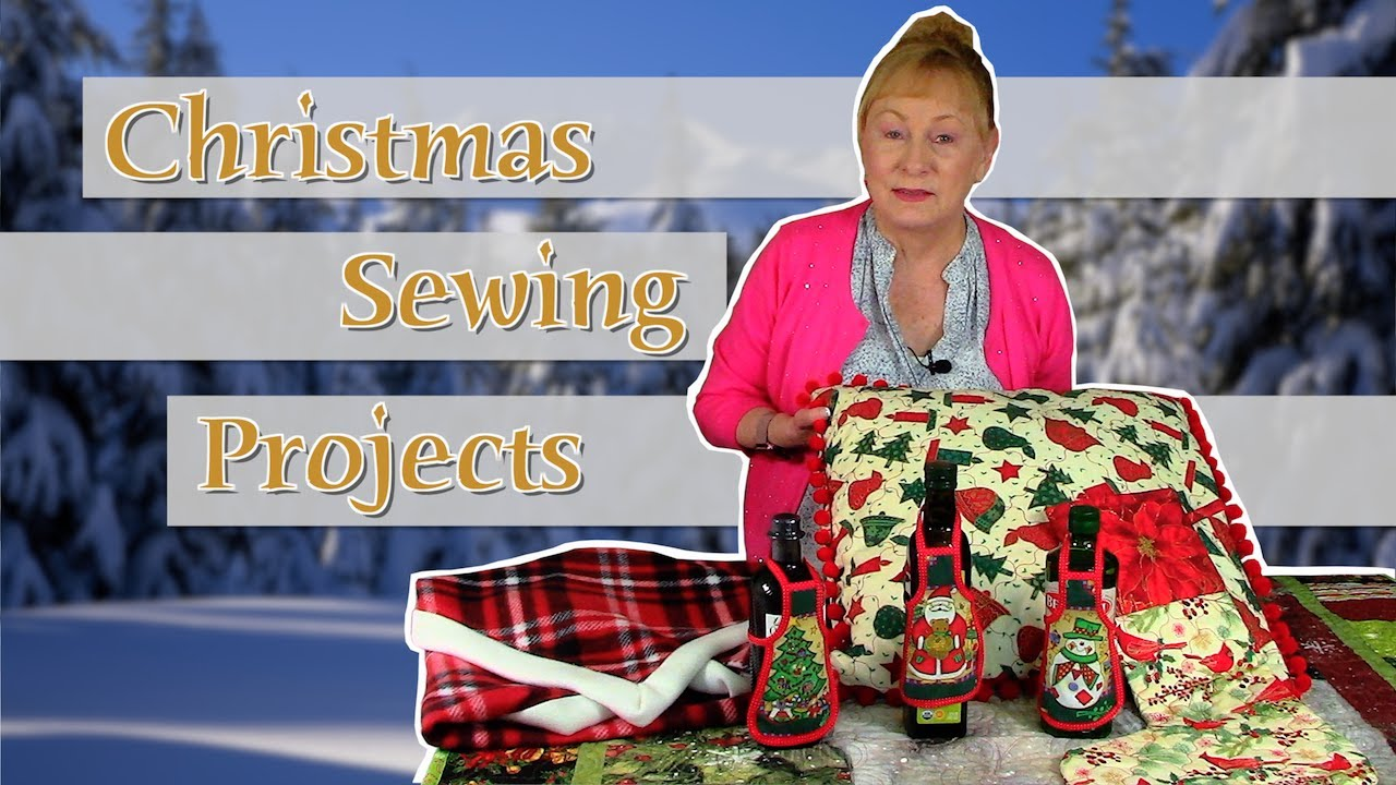 Christmas Sewing Projects 2020 | The Sewing Room Channel