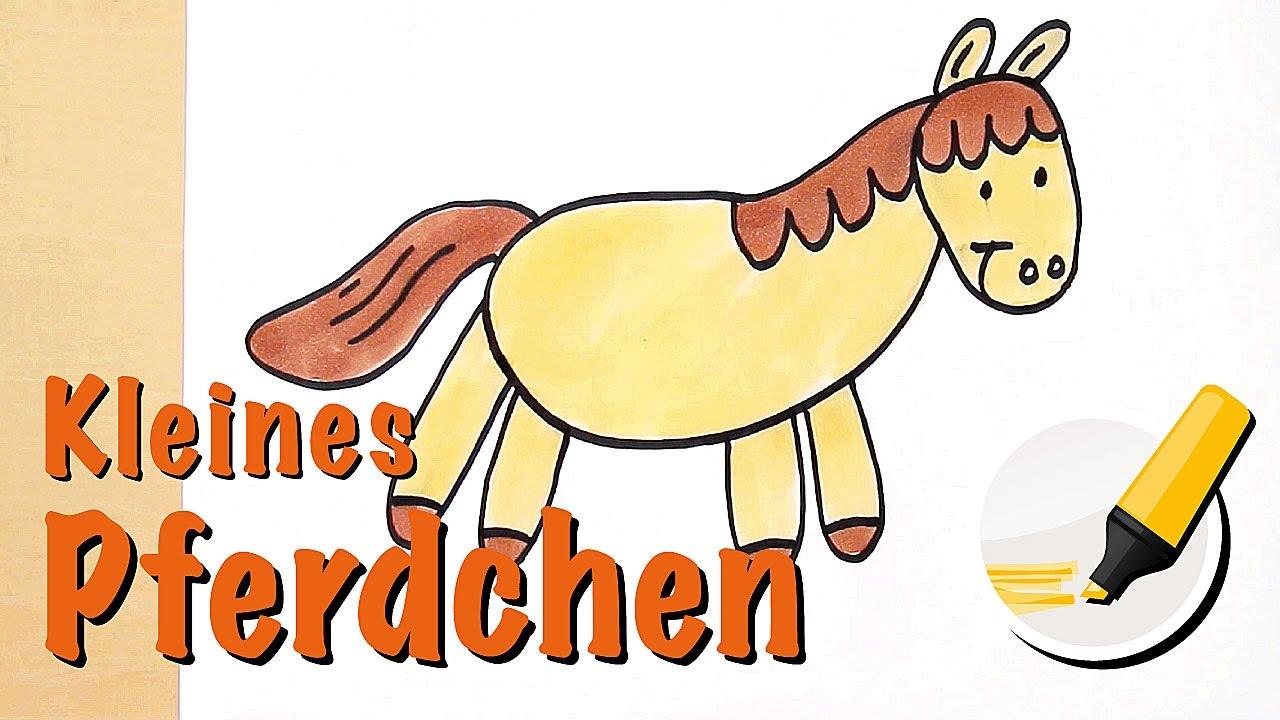 Pferd Zeichnen Pony Zeichnen Das Landsaugetier Mit Den Grossten