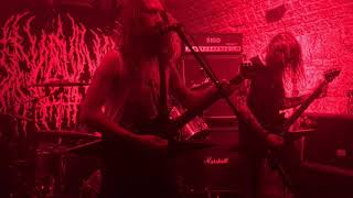 BLOOD INCANTATION - The 5th Tablet / Obfuscating' (LIVE - Robot, Budapest - 2017-10-23)