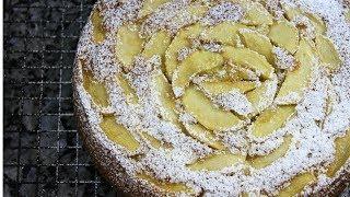 Вкуснейший итальянский яблочный пирог.Простой и невероятно вкусный!