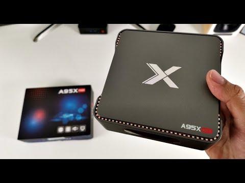 Impressive A95X MAX - Android Oreo TV Box - 4+64GB / HDD Caddy