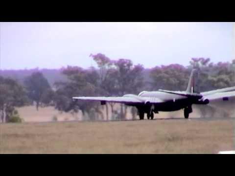 Canberra bomber at Temora Air Museum