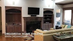 5.1 KEF Surround Sound in Willow Bend Plano, TX by Dreamedia Home Theater
