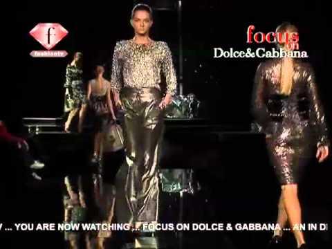 Dolce & Gabbana Fall Winter 2007