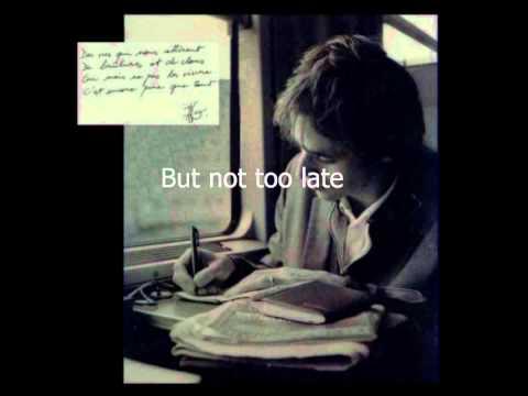 Jean Jacques Goldman - Puisque Tu Pars (English lyrics)