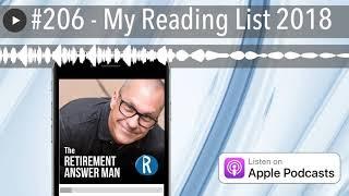 #206 - My Reading List 2018