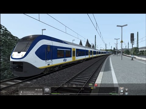 TS2015 HD: NS SLT EMU Action Preview on West Rhine Cologne - Koblenz Route |