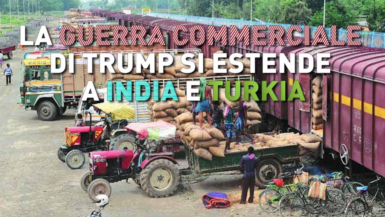 PTV News - 6.03.19 -  La guerra commerciale di Trump si estende a India e Turchia