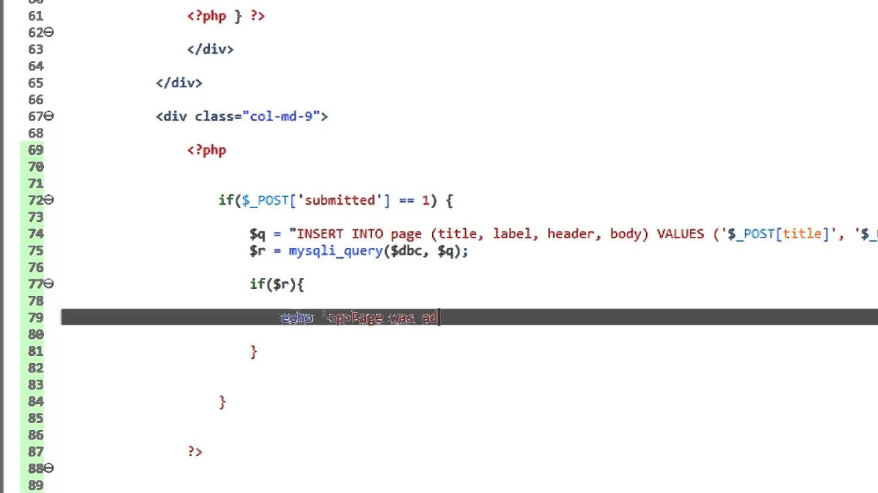 how to make dynamic website in html