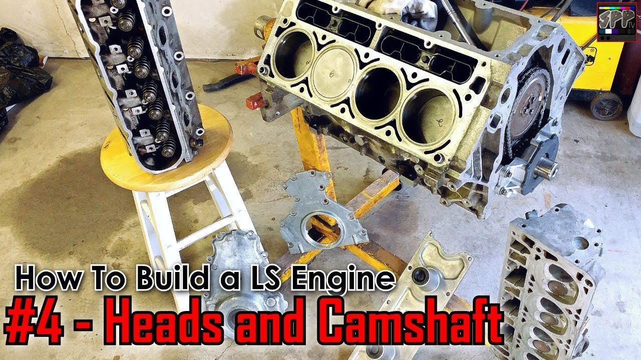Rebuilding 799 LS Cylinder Heads, SS2 Camshaft Install + More | How to  Build a LS Engine (ep4)