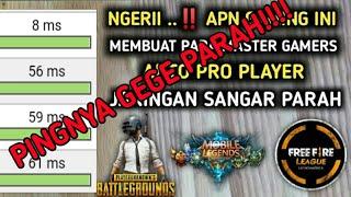 Apn Gaming All Operator Tercepat Paling Stabil Pecinta Game Online Wajib Nonton!!
