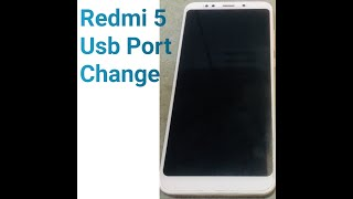 Xiaomi Redmi Note 5 Charging Pin Problem || How to Replace Redmi Note 5 CHARGING USB PORT