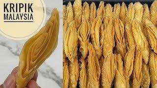 Resep kripik malaysia enak renyah dan gurih