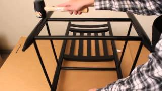 How To Assemble A Ready-to-assemble Rocking Chair