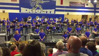 McCallum high school Marching band 2018 preview concert