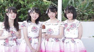 AKB48若手選抜・武藤小麟、田口愛佳、久保怜音、矢作萌夏にインタヒ?ュー!「先輩メンバーの卒業あっても、20年後も続けられるグループにしていきたい」<OISOアイドルビーチ2018>