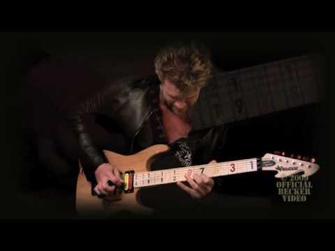 Matt Schulze and the Jason Becker Signature Guitar,  1