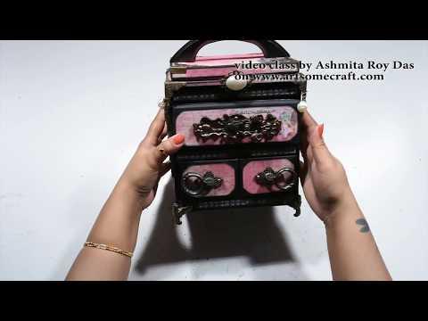 Prima Romance Novel Cabinet with Interactive Album