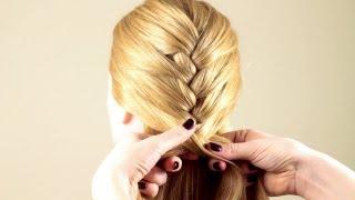 видео Французская коса