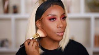 SICKENING Matte Pink Makeup Tutorial | Jackie Aina