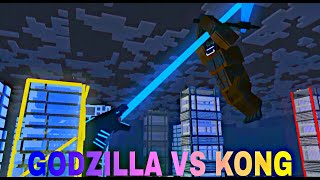Godzilla vs Kong Trailer But Its Minecraft | A Minecraft Animation by Sandstone Films