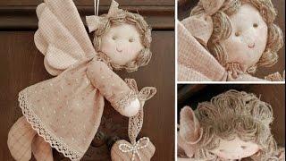 видео Ангел из ткани своими руками: фото, выкройки