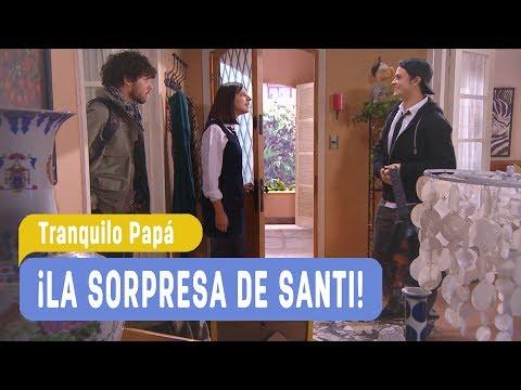 Tranquilo Papá   ¡La sorpresa de Santi!   Santiago y Madonna   Capítulo 50