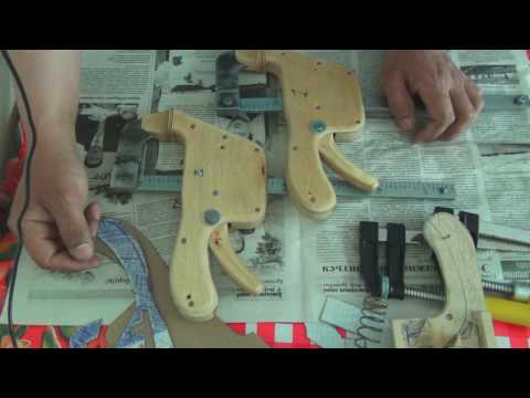 Автоматические струбцины своими руками