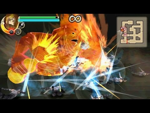 Распаковка Naruto Kizuna Drive для PSP (Unboxing Game)