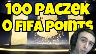 OTWORZYŁEM 100 PACZEK! - FIFA 19