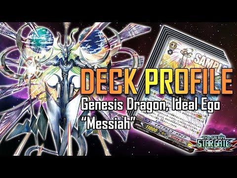 "Cardfight!! Vanguard Deck Profile : Genesis Dragon, Ideal Ego ""Messiah"" (February 2018)"