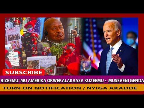 Bitabuse! Mu  America  Okwekalakaasa Kuzeemu ~ Museveni Bagala Agende Alekere Bobi wine Entebbe Ye
