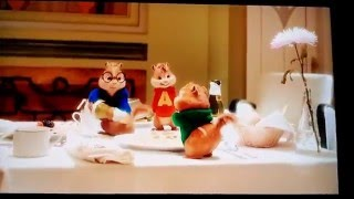 Alivn and the chipmunks the road chip turn down for what