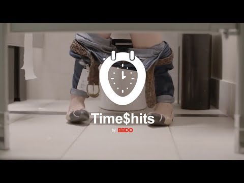 BBDO Time$hits - Manage your timesheets from the bathroom