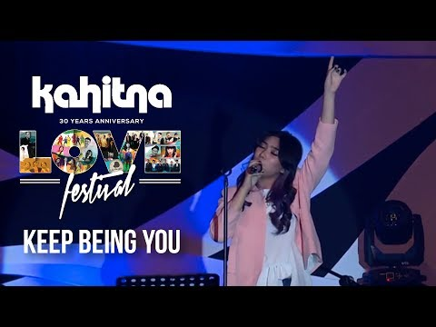 Isyana Sarasvati - Keep Being You | (Kahitna Love Festival)
