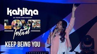 Isyana Sarasvati Keep Being You Kahitna Love Festival