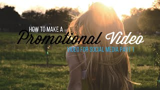 How to Make a Promotional Video | 5 Tips thumbnail