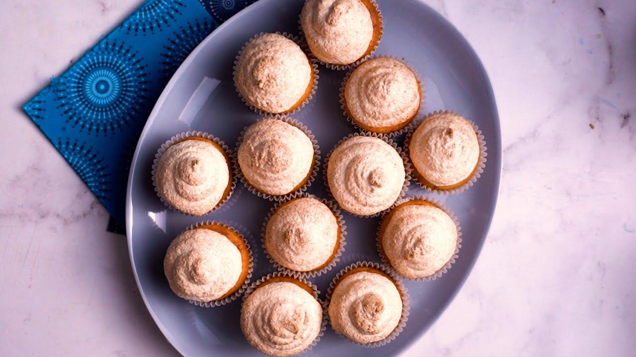 Hidden Centre Hertzoggie Cupcakes