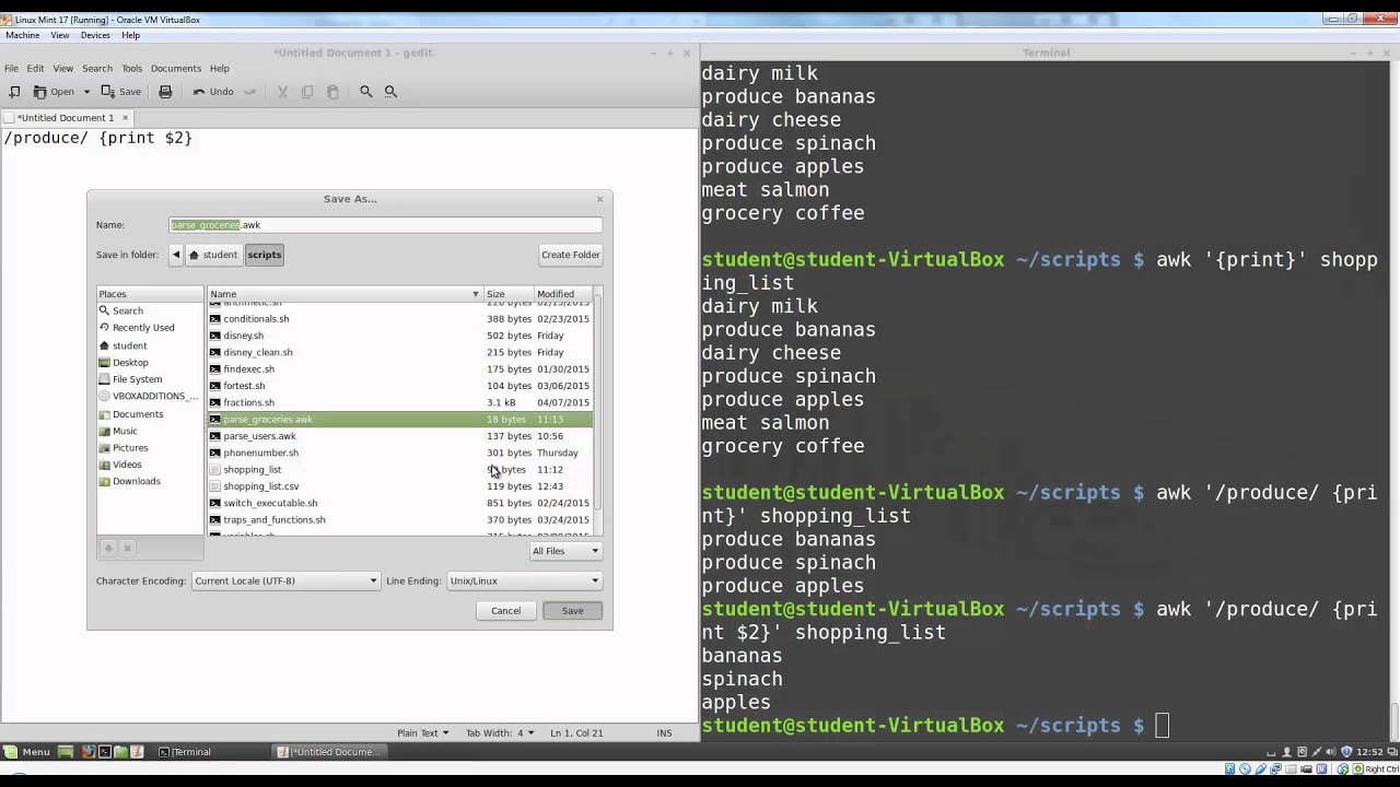 AWK Scripts for processing Tracefiles in ns19 - NS19 Tutorial # 19 by