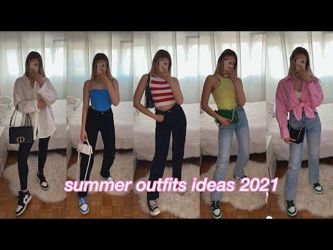 summer *outfits ideas* 2021✨|| Oks Dane
