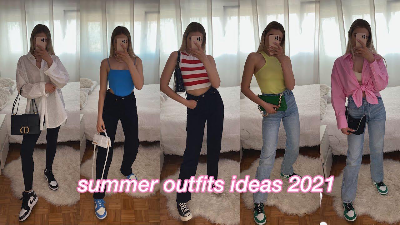 summer *outfits ideas* 2021✨   Oks Dane