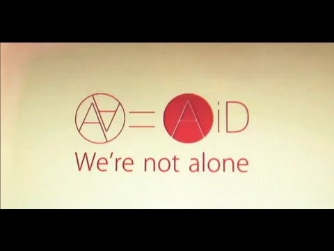 AA= AiD(aaequal aid) - We're not alone (Official Music Video)